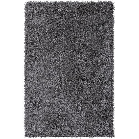 Croix Area Rug - Light Gray/Black 8' x 10'--Home Accessories