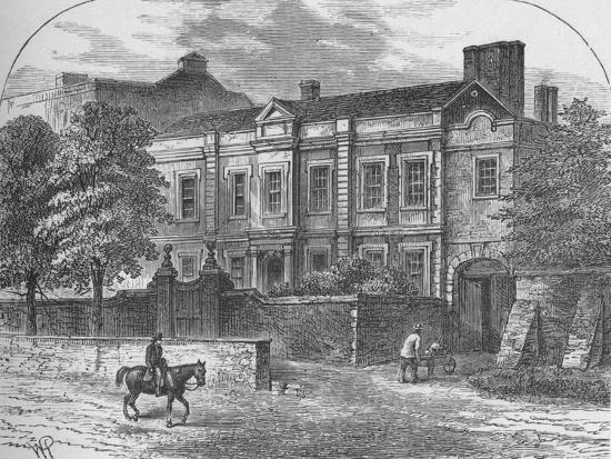 'Cromwell's House, Highgate', 1890-Unknown-Giclee Print