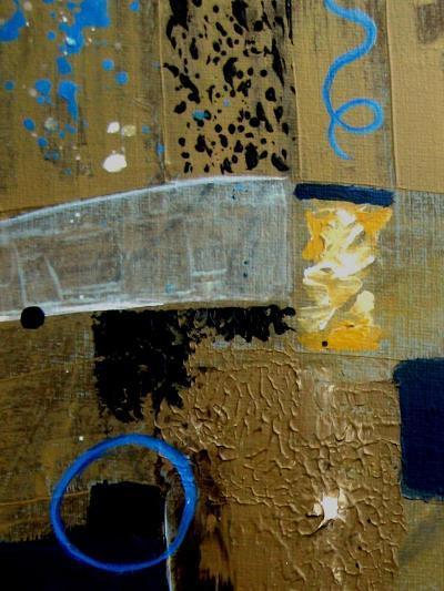 Crooked Shapes-Ruth Palmer-Art Print