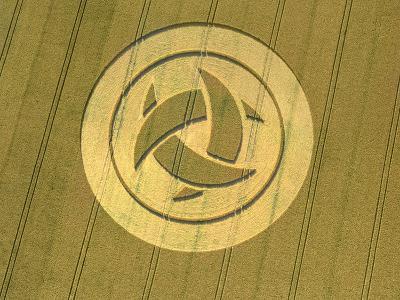 Crop Circle, 23rd July 1999--Photographic Print