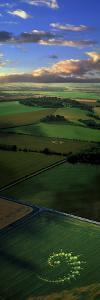 Crop Circles England (Photo Montage)