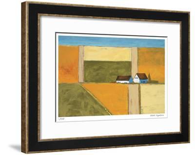 Crop Circles-Gale McKee-Framed Giclee Print