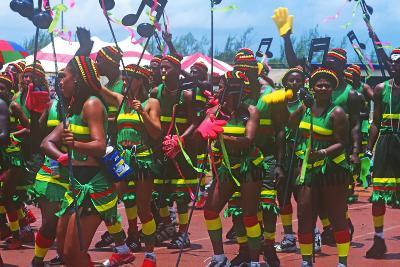 Crop over Celebration, Barbados--Photographic Print