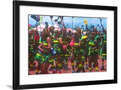 Crop over Celebration, Barbados--Framed Photographic Print