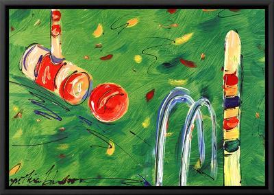 Croquet-Cynthia Hudson-Framed Canvas Print