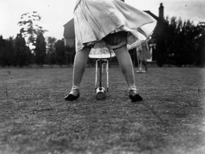 Croquet--Photographic Print