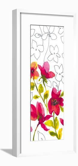 Croquis Floral II-Sandra Jacobs-Framed Giclee Print