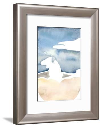 Cross Country Abstraction I-Natasha Chabot-Framed Art Print