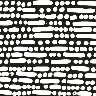 Cross Current Square Up II BW-Cheryl Warrick-Art Print