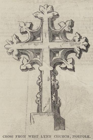 Cross from West Lynn Church, Norfolk--Giclee Print