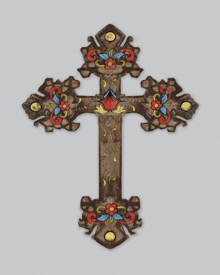 Cross II-Maria Mendez-Art Print