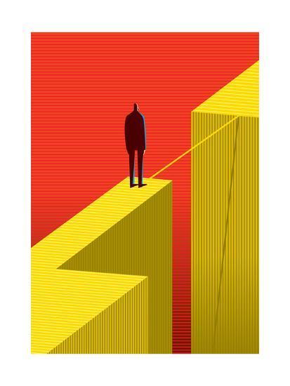 Cross Other Side-bbay-Art Print