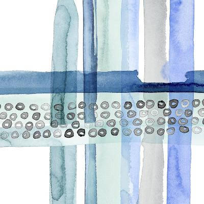 Cross Stitch III-Grace Popp-Art Print