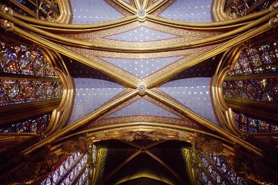 Cross Vaults of the Canopy, Upper Chapel of the Holy Chapel, Paris, Ile-De-France, France--Giclee Print