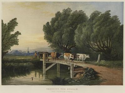 Crossing the Stream-Edward Duncan-Giclee Print