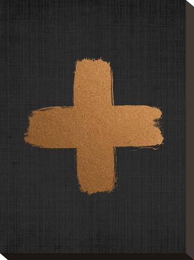 Crosson Black 2-LILA X LOLA-Stretched Canvas Print