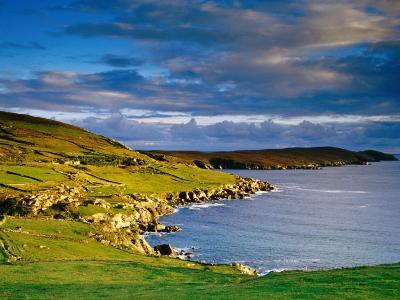 Crow Head at Dursey Sound Near Allihies, Allihies, Ireland-Richard Cummins-Photographic Print