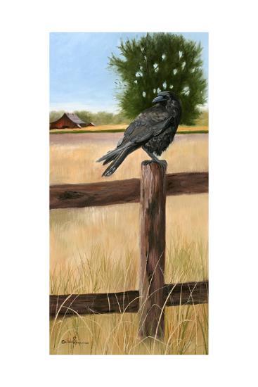 Crow-Julie Peterson-Art Print