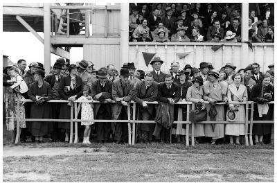 Crowd at the Races, C1920-1939--Giclee Print