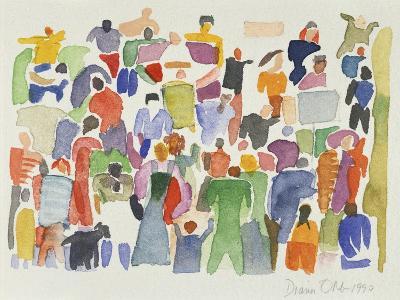Crowd No.16-Diana Ong-Giclee Print