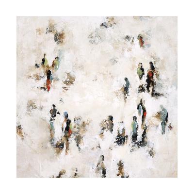 Crowd on the Street-Sydney Edmunds-Giclee Print