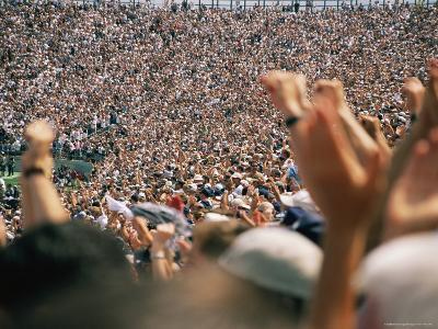 Crowds Numbering over 100,000 Gather During the College Football Season to Cheer Penn State-Stacy Gold-Photographic Print