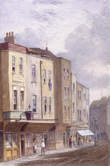 Crown and Coopers' Arms, Golden Lane, London, 1869--Giclee Print