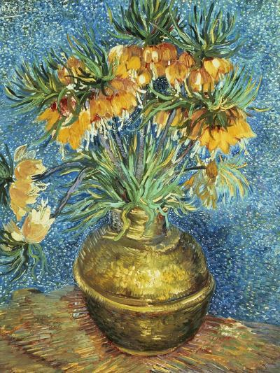 Crown Imperial Fritillaries in a Copper Vase, 1886-Vincent van Gogh-Giclee Print