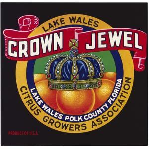 Crown Jewel Oranges Label