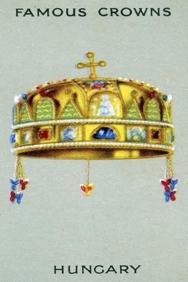 Crown of Hungary, 1938--Giclee Print