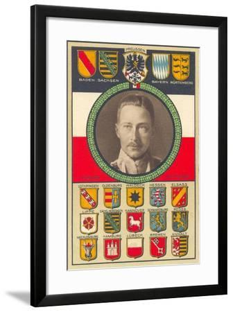 Crown Prince Wilhelm of Prussia, 1915--Framed Giclee Print