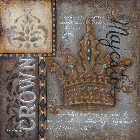 Crown-Kim Lewis-Art Print