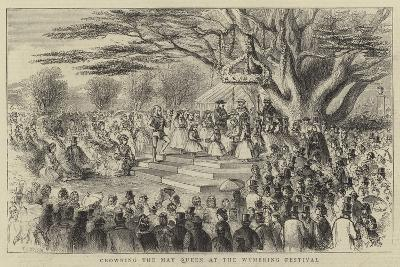 Crowning the May Queen at the Wymering Festival-Thomas Harrington Wilson-Giclee Print