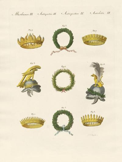Crowns from the Ancients--Giclee Print