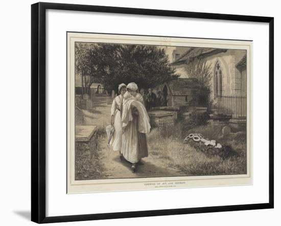 Crowns of Joy and Sorrow-Phillip Richard Morris-Framed Giclee Print