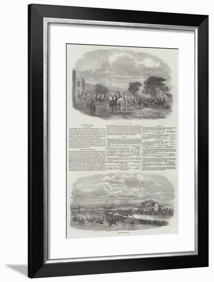 Croxton Park--Framed Giclee Print