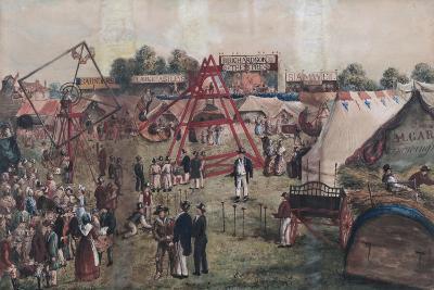 Croydon Fair, 1833-George Hawkins-Giclee Print