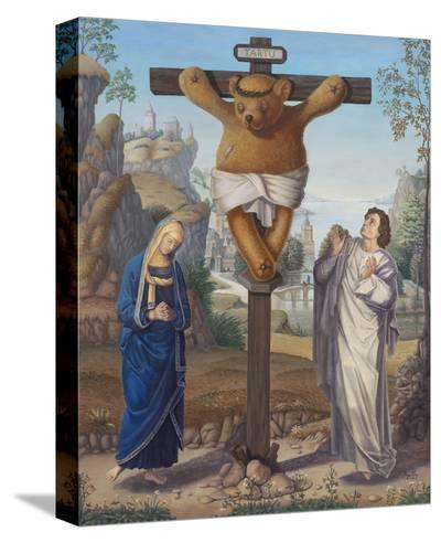 Cruci Teddy-Preston Craig-Stretched Canvas Print