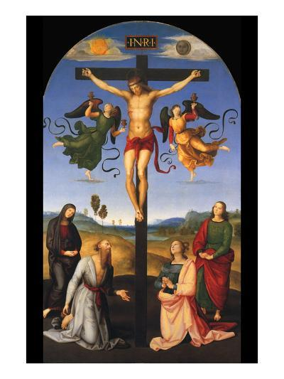 Crucified Christ-Raphael-Art Print