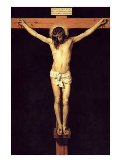 Crucified Christ-Diego Velazquez-Art Print