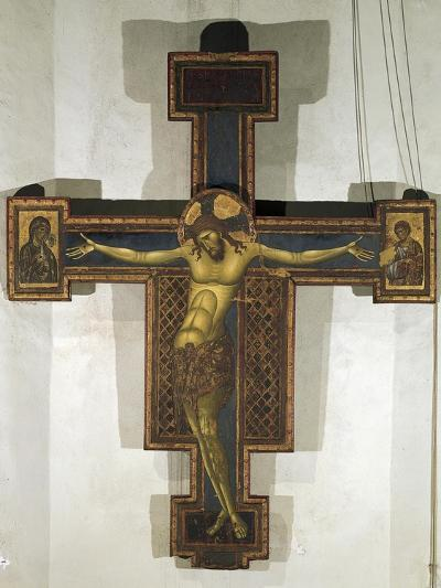 Crucifix, 1250-1254-Giunta Pisano-Giclee Print