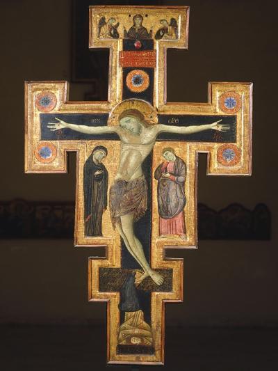 Crucifix, 12th Century--Giclee Print