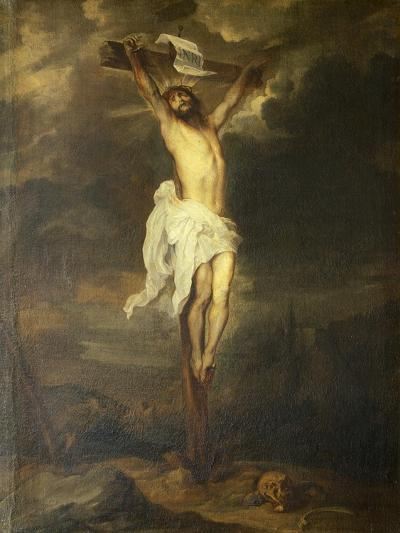 Crucifix by Anthony Van Dyck--Giclee Print