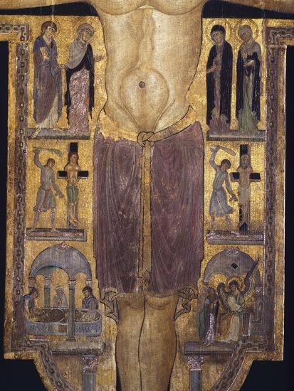 Crucifix, Detail of Central Part, 12th Century--Giclee Print