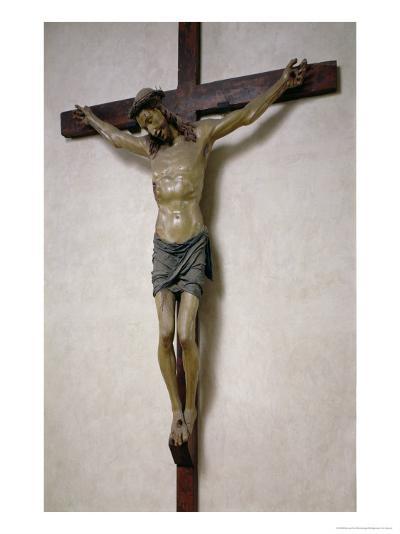 Crucifix- Baccio Da Montelupo-Giclee Print