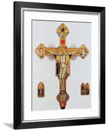 Crucifix-Bernardo Daddi-Framed Giclee Print