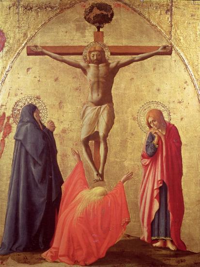 Crucifixion, 1426-Tommaso Masaccio-Giclee Print