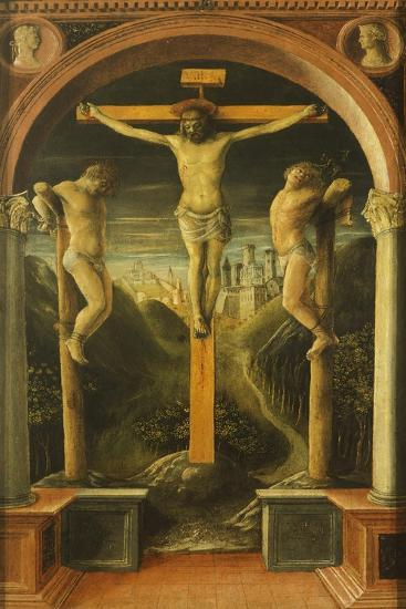Crucifixion, 1456-Vincenzo Foppa-Giclee Print