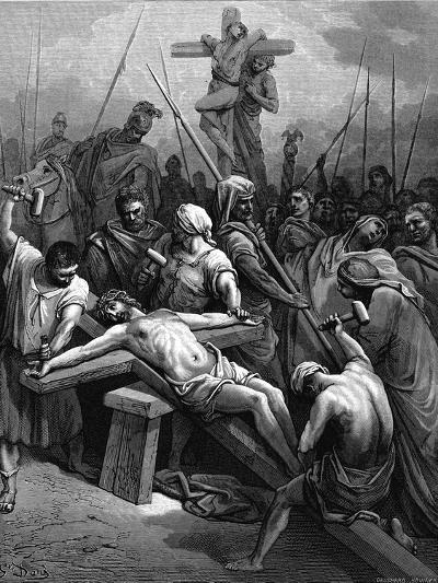 Crucifixion, 1866-Gustave Dor?-Giclee Print