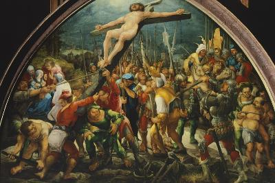 Crucifixion, by Wolfgang Huber--Giclee Print